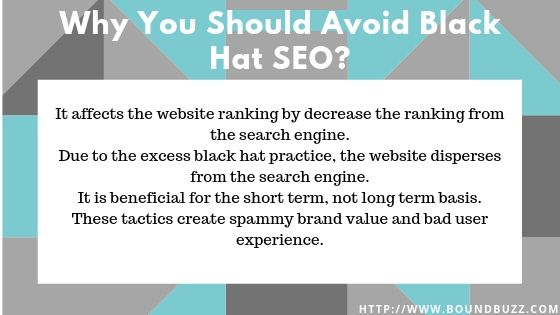 Why You Should Avoid Black Hat SEO
