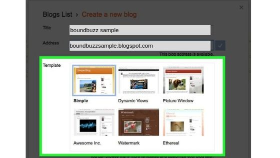 A Beginners Guide How To Create A Blog On Blogger Platform For Free (2)