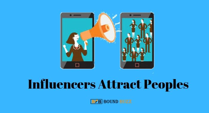 Influencers increase traffic on website