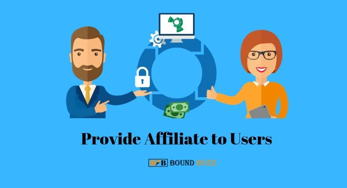 Provide Affiliate to Users
