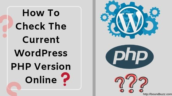 How To Check The Current WordPress PHP Version Online