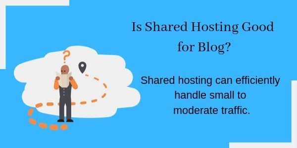 Is Shared Hosting good for Blog