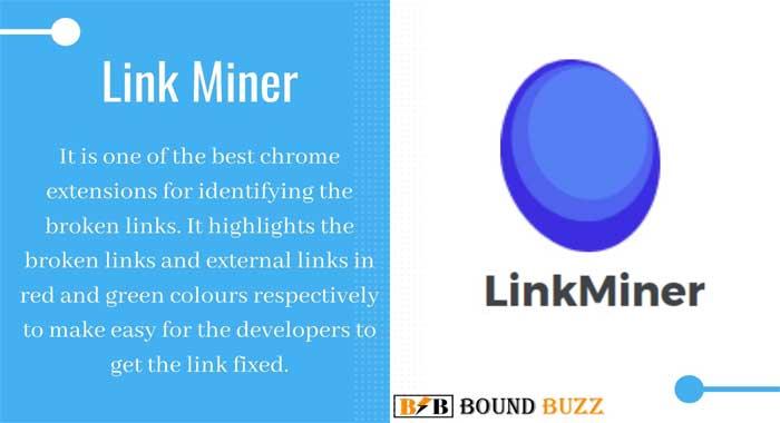 Link Miner Google Chrome Extension