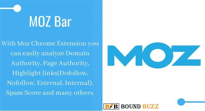 Moz Bar Chrome Extension