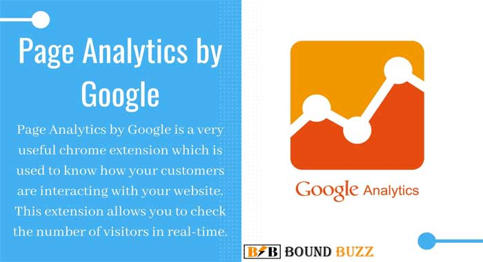 Page Analytics by Google Chrome Extension