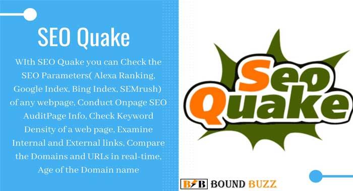 SEO Quake Chrome Extension