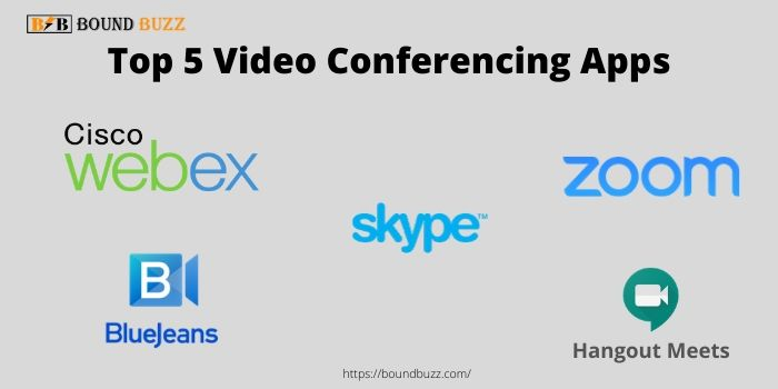 top 5 video conferencing apps