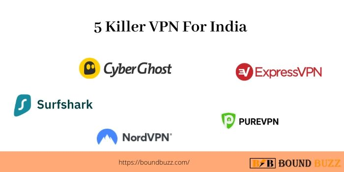 5 Killer VPN For India