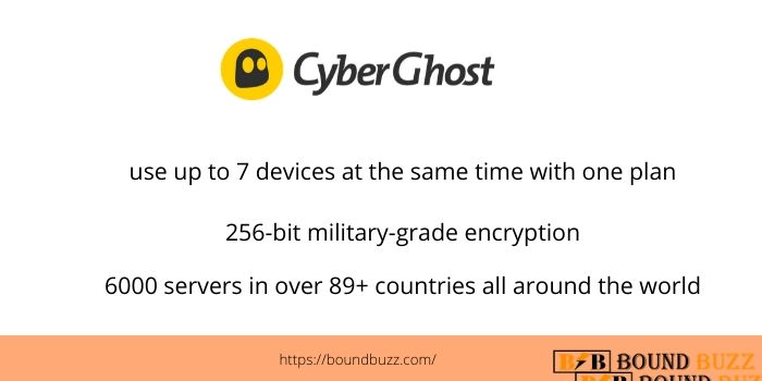 CyberGhost Best VPN service For Indians