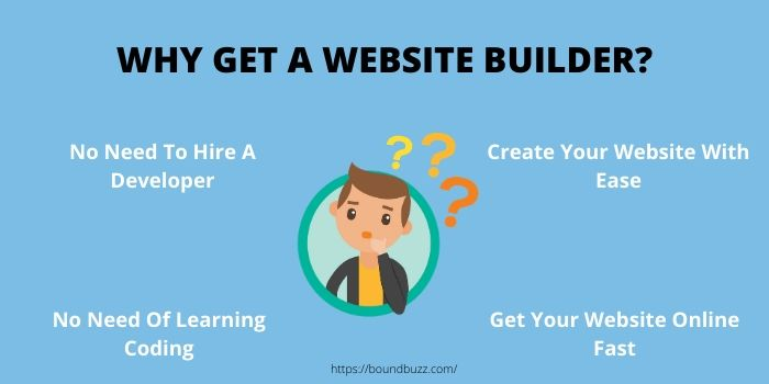 benefits of website builder