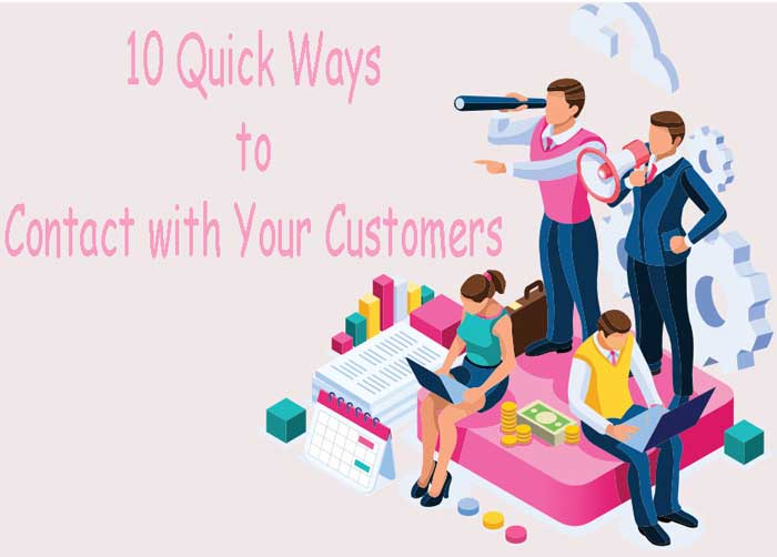10-Quick-Ways-to-Contact-with-Your-Customers