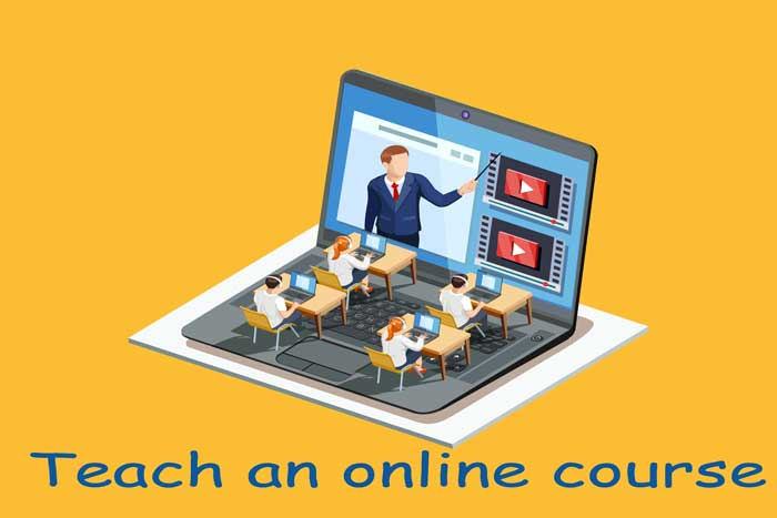 Teach-an-online-course