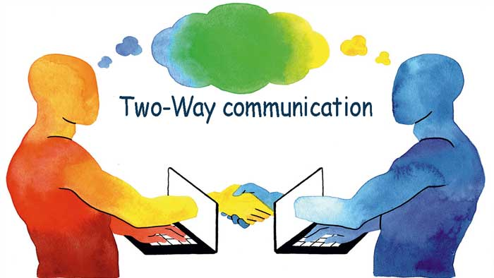 Two-Way-communication