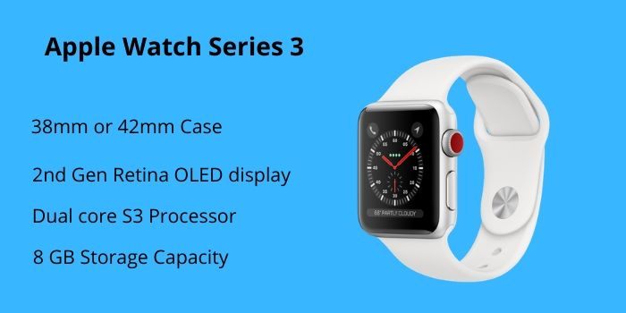 what is the difference between apple watch 3 and 4