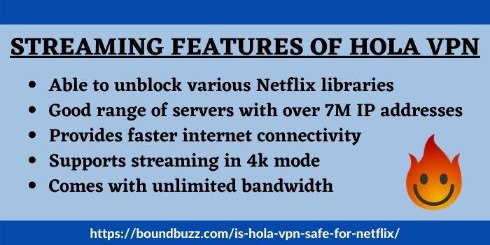 Does Hola VPN work for Netflix
