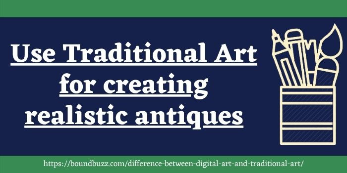 two similarities of traditional art and digital art