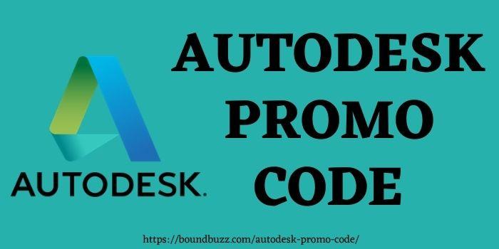 Autodesk Promo Code www.boundbuzz.com