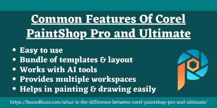 Corel Paintshop pro vs ultimate