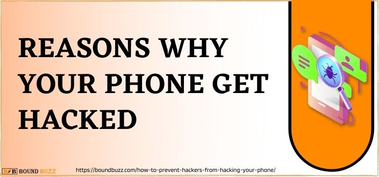 REasons why your phone get hacked
