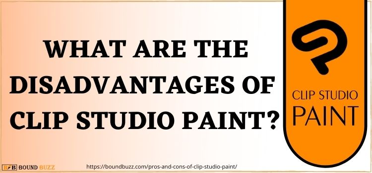 What Are The DisAdvantages Of Clip Studio Paint www.boundbuzz.com