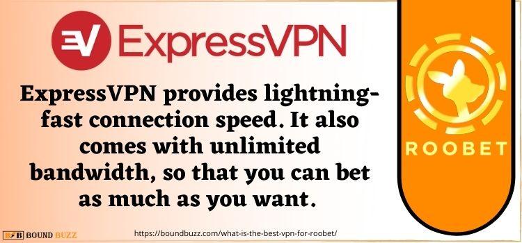 ExpressVPN best Vpn for roobet USA