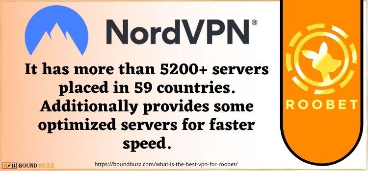 NordVPN best vpn to play roobet