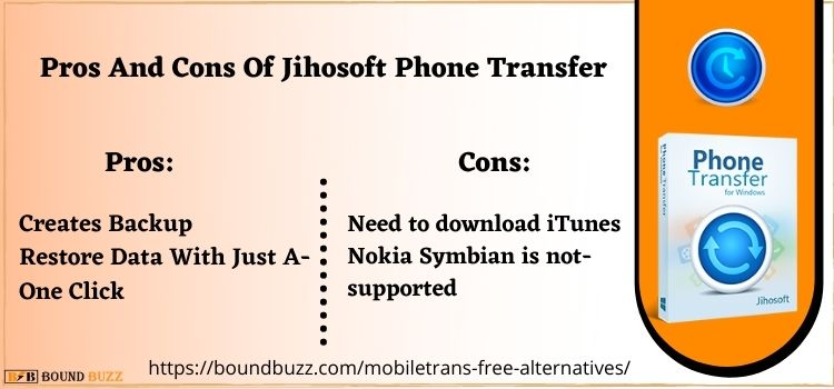 Pros And Cons Of Jihosoft Phone Transfer