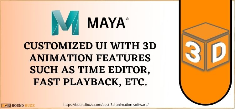 AUtodesk Maya best 3D animation app